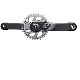 SRAM X01 Eagle DUB Crankset 12-speed 32T black/silver